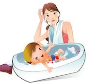 Higiene en el reci n nacido el ba o no todo es pediatr a - Bano del recien nacido ...