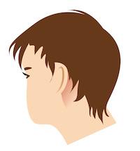 Inflamacion detras de la oreja izquierda